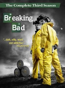 Breaking Bad, The Complete Season 3, dvd, blu-ray, cover