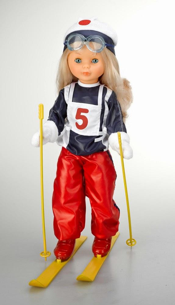 JUGUETES - NANCY - Muñeca Nancy Yo quise ser esquiadora  Nancy Colección - Re-edición 2014 Serie Numerada  Producto Oficial | Famosa 700011278 | A partir de 6 años