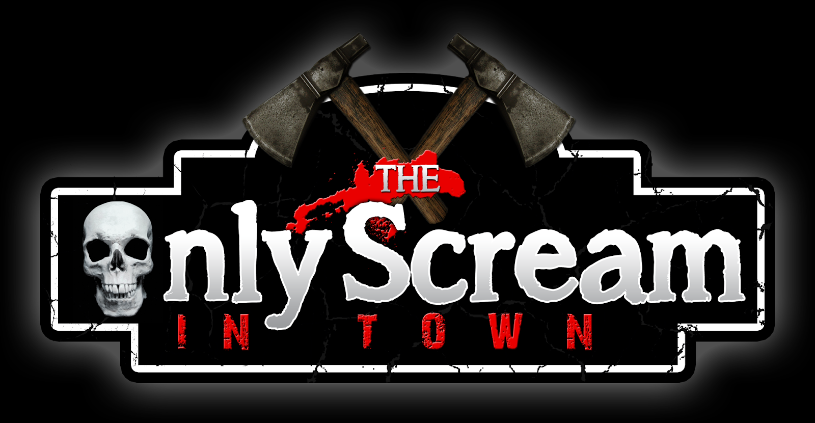 The Only Scream in Town logo- Halloween New England