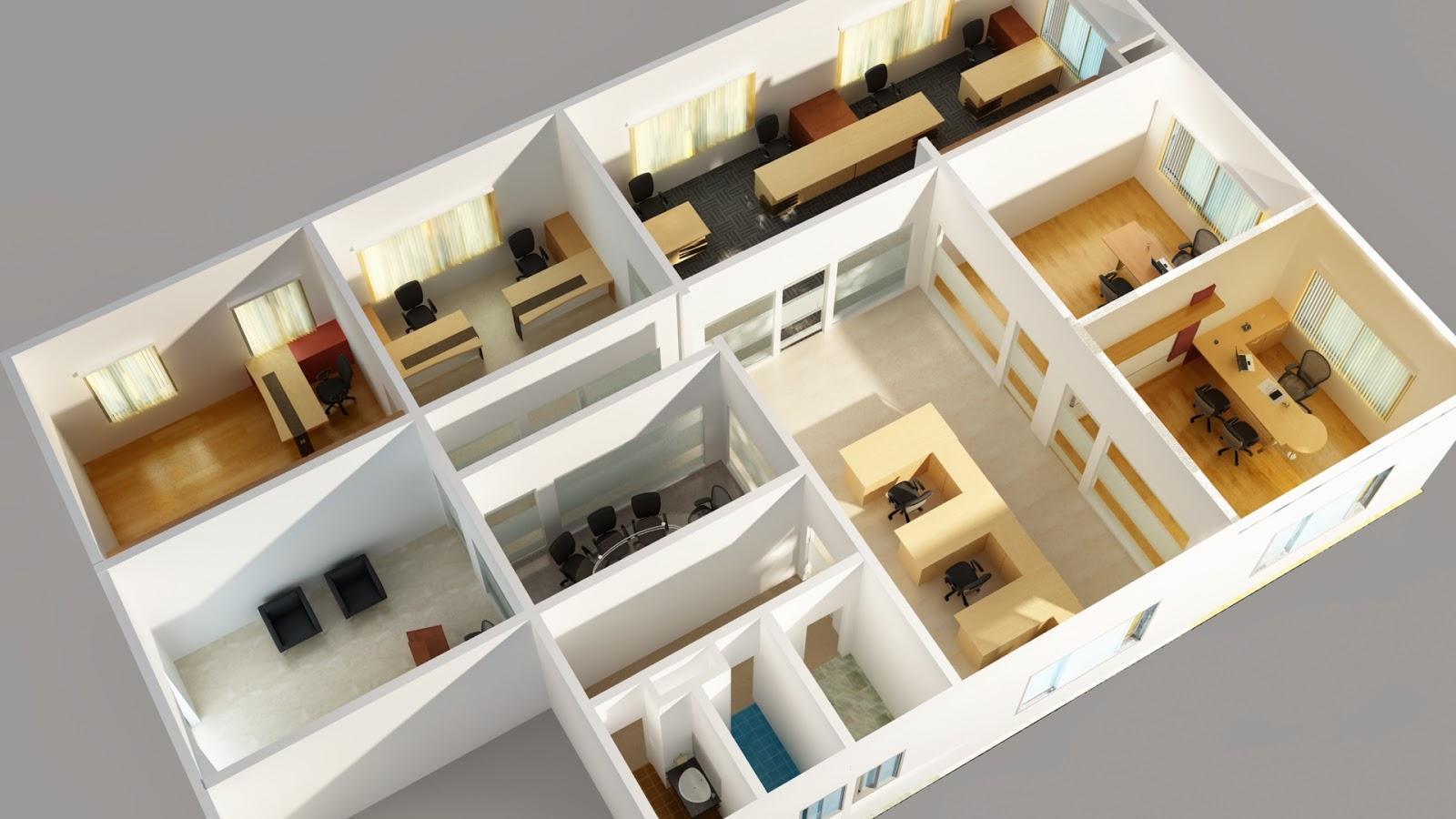 Bhaumik Mehta 39 S 3d Creations 3d Floor Plans