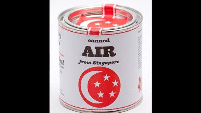 Udara Segar dari Singapura Dijual Rp 46,5 Juta Per Kaleng