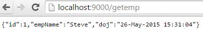 JSON Date Format