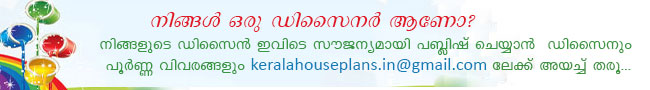 Kerala House Plans Designs Floor And Elevation