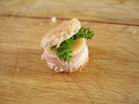 мини бургер для грызуна