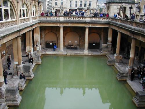 Baños Romanos En Bath:imagen de http://thearcheologywordpresscom/category/roma-antiga/
