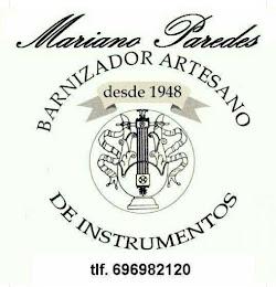 BARNIZADOR ARTESANO DE GUITARRAS MARIANO PAREDES