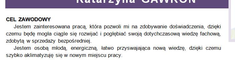 profesjonalny doradca zawodowy  cz  4