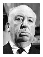 gore guru Alfred Hitchcock