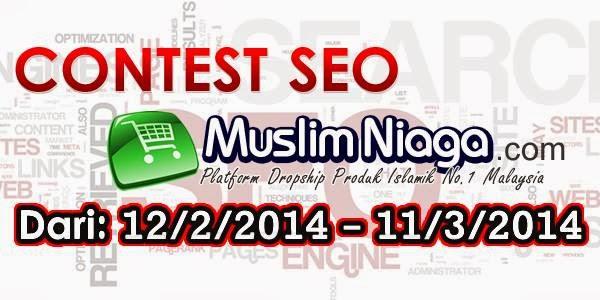contest SEO, produk Islamik, Muslim Niaga, Platform Terbaik, Dropship Secara Islam, Bisnes Online Secara Islamik, produk islam, barangan halal