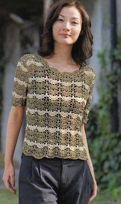 ganchillo crochet blusas