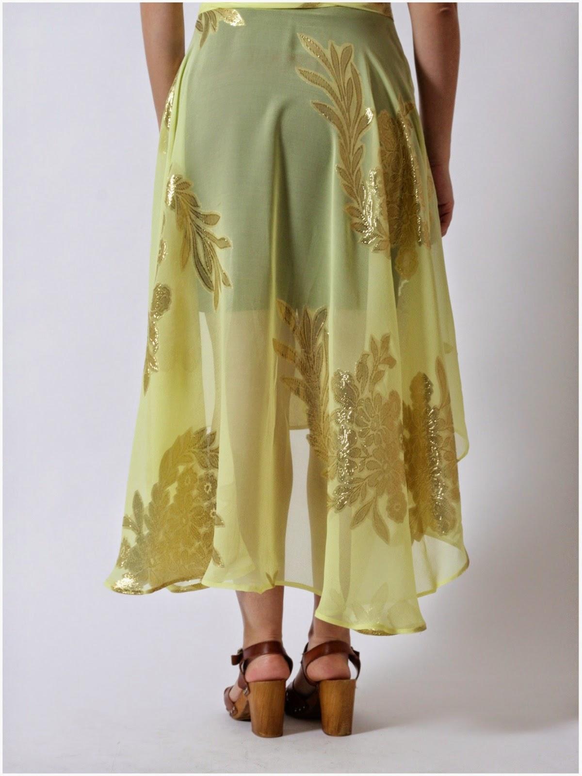 Julia Bobbin - Cascade Skirt by Megan Nielsen Patterns