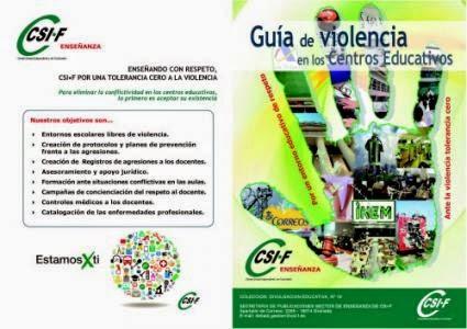 Guía de violencia en los centros educativos