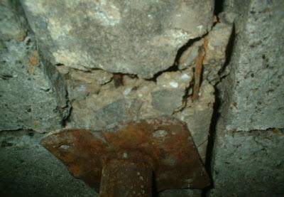 Oxidación de armadura en viguetas.