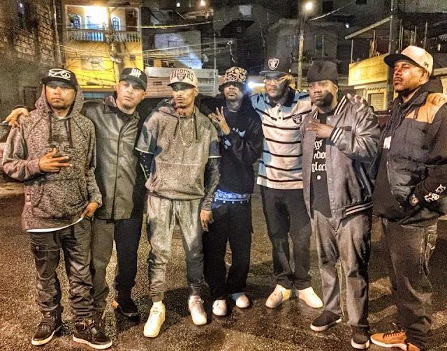 Bone Thugs grava musica e videoclipe com RZO em Pirituba (Video)
