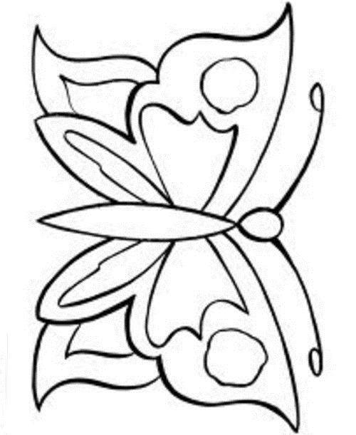 Free Coloring Pages Butterfly Coloring Pages For Kids