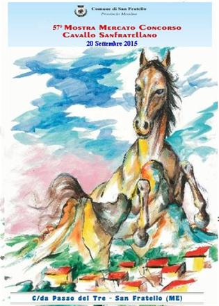 57ma Mostra Mercato Concorso del Cavallo Sanfratellano