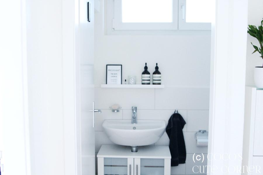 Coco\'s Cute Corner: Gäste-WC - auch Mini kann schön sein