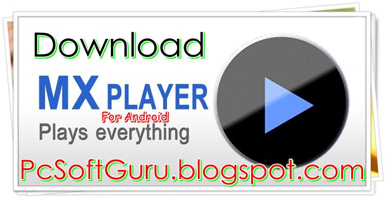 Mx player Pro version codec