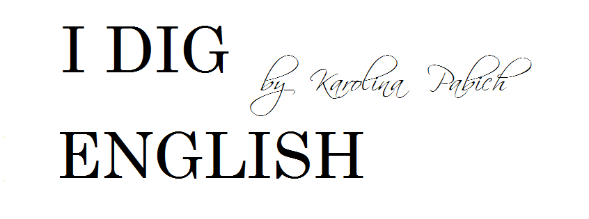 I DIG ENGLISH  by Karolina Pabich