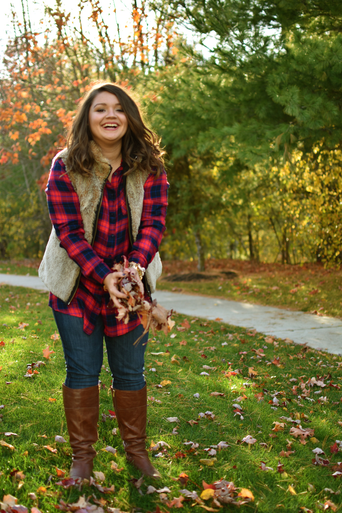 owen and ceme plaid tunic