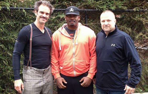 Ned Luke, Shawn Fonteno y Steven Ogg