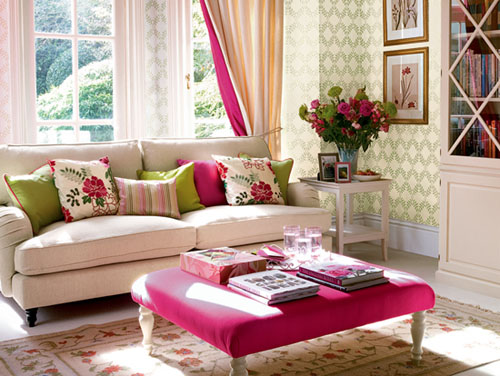 Romantic Living Room Design Ideas