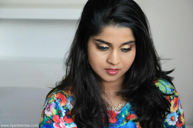 easy gold eye indian makeup