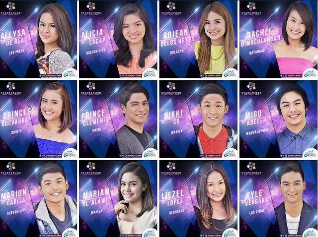 Photos of StarStruck VI Contestants