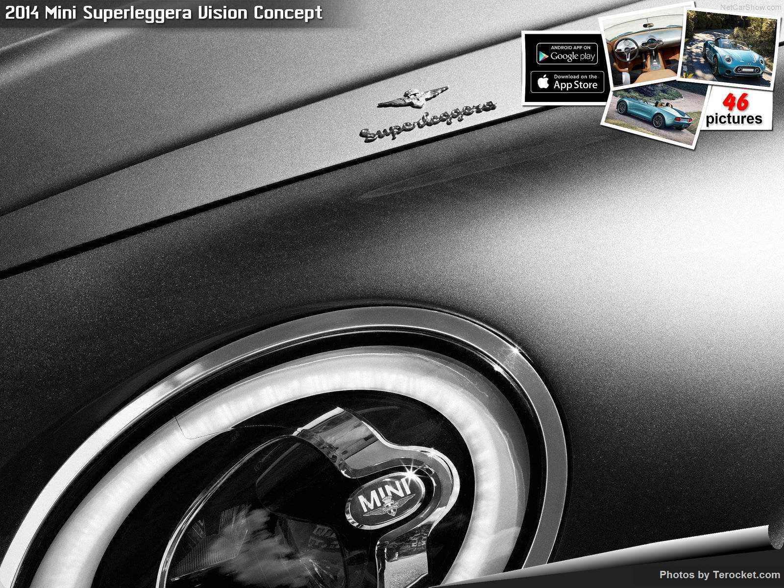 Hình ảnh xe ô tô Mini Superleggera Vision Concept 2014 & nội ngoại thất