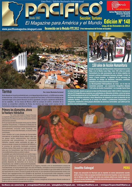 Revista Pacífico Nº 148 Turismo