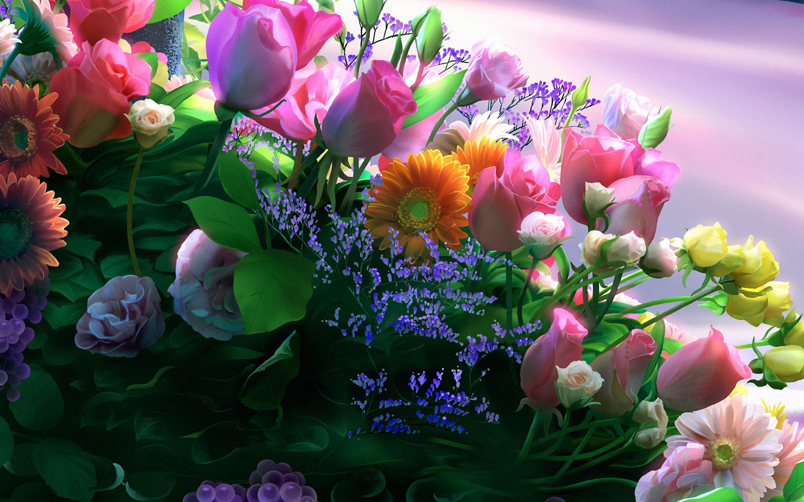 : Windows 7 Flowers Wallpapers, Windows 7Flowers Desktop Wallpapers