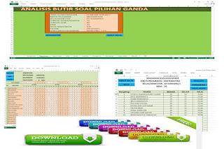 Download Aplikasi Analisis Soal Pilihan Ganda dengan Excel