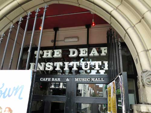 The Deaf Institute Manchester.