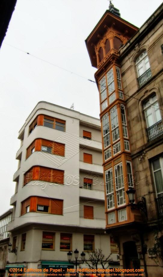 Edificio Marquina, Racionalista, 1939-1940, de M. Rodríguez
