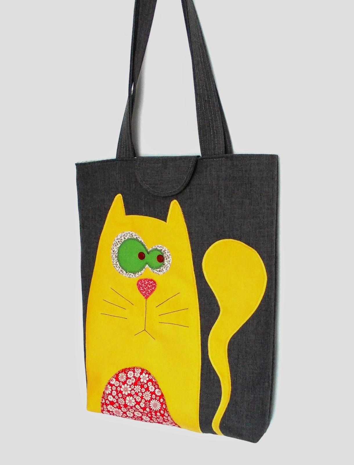 Сумка-кошка своими руками (выкройка, Diy) / Сумки, клатчи