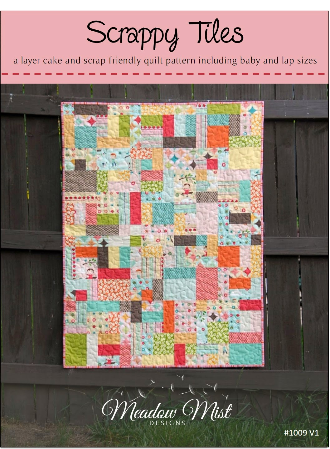 Meadow Mist Designs Scrappy Tiles Pattern Now Available