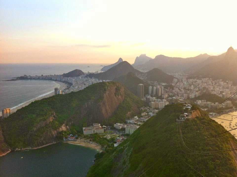 View of Rio from Sugar Loaf Mountain