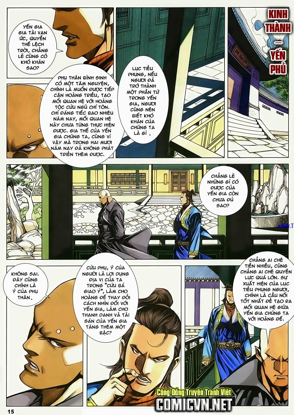 Cổ Long Quần Hiệp Truyện chap 84 Trang 15 - Mangak.info