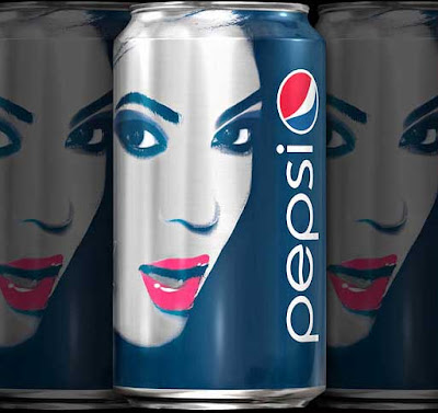 Beyonce Limited Edition Pepsi Cans