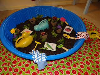Whole child preschool growing gardens for Indoor gardening lesson