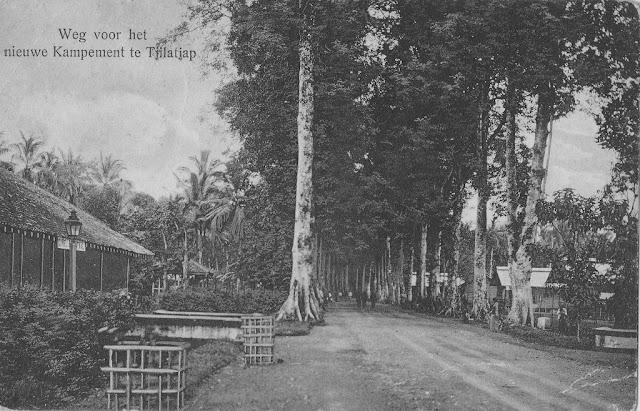 Cilacap, Jalan Baru (New Road), 1916