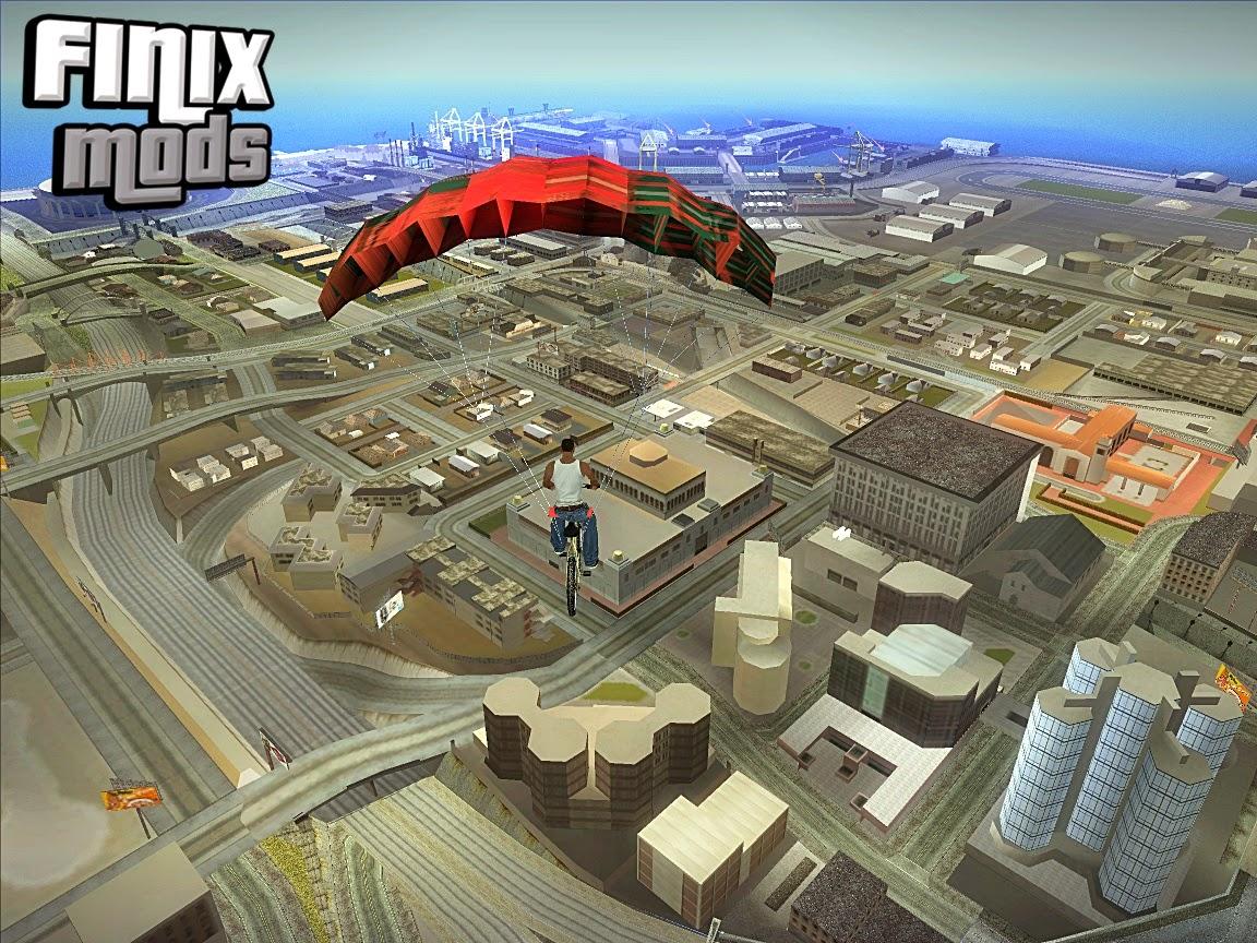 Mod Paraquedas para Veículos V1