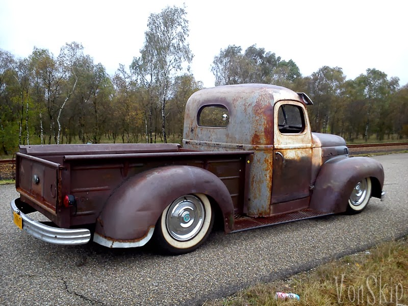 International Rat Rod Pick Up Truck Vonskip on 1941 1946 chevy pickup trucks for sale