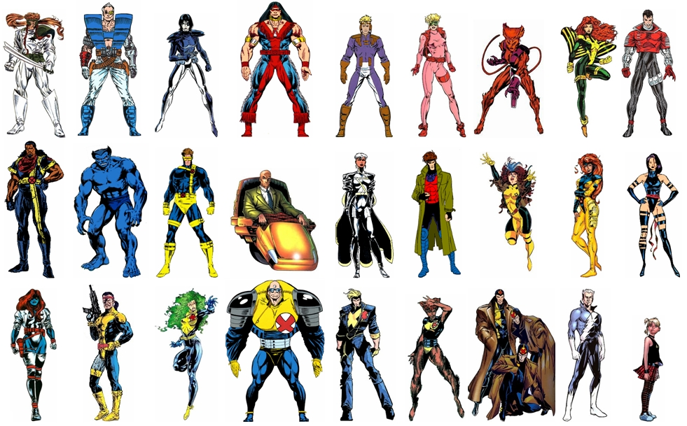 X-men fotos dos personagens 96