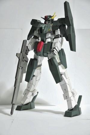Gundam GN-006 Cherudim Papercraft