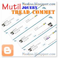 Chèn Thread comment phân nhiều cấp vào Blogspot Ver 2