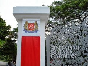 Hijau Hutan Kota Botanic Garden Singapore