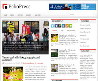 EchoPress-Blogger-Template
