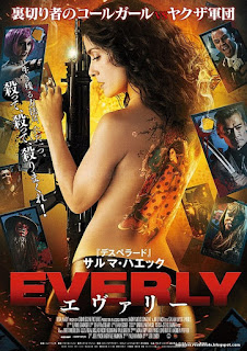 Everly: Implacable y Peligrosa Poster