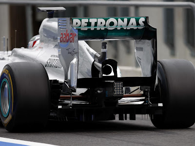 MAGNY COURS DIA 2. MERCEDES